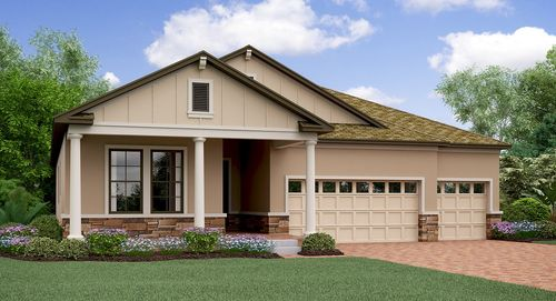 Southern Hills Manors By Lennar In Tampa St Petersburg Florida