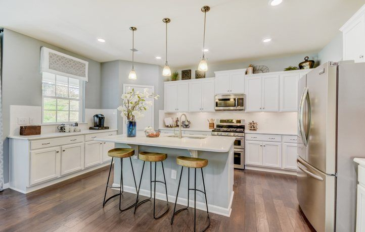 Kitchen-in-Hunter-at-Byers Creek - Legends-in-Mooresville