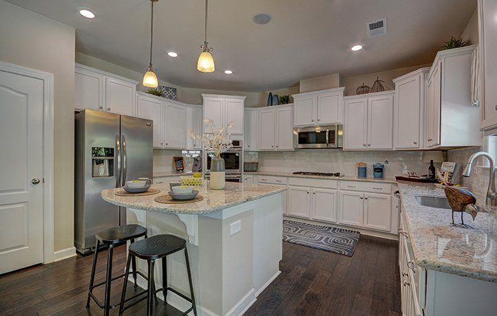 Kitchen-in-Roosevelt-at-Oak Grove Estates-in-Waxhaw