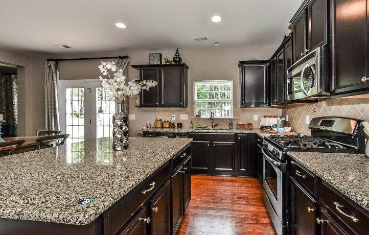Kitchen-in-Harrison-at-Oak Grove Estates-in-Waxhaw