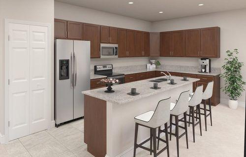 Kitchen-in-Mulberry-at-Galiano Estates-in-Miami