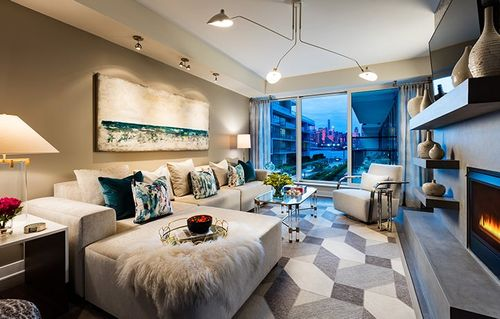 Media-Room-in-Residence 711-at-The Avenue Collection - 1200 Avenue-in-Weehawken
