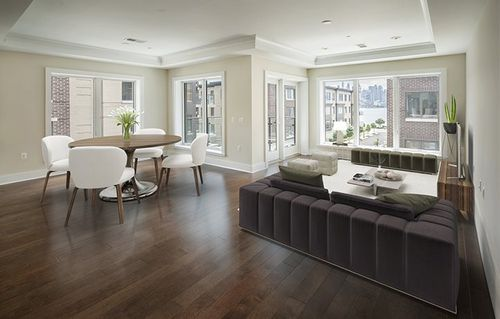 Greatroom-and-Dining-in-100 Eton Row #305-at-Henley On Hudson-in-Weehawken