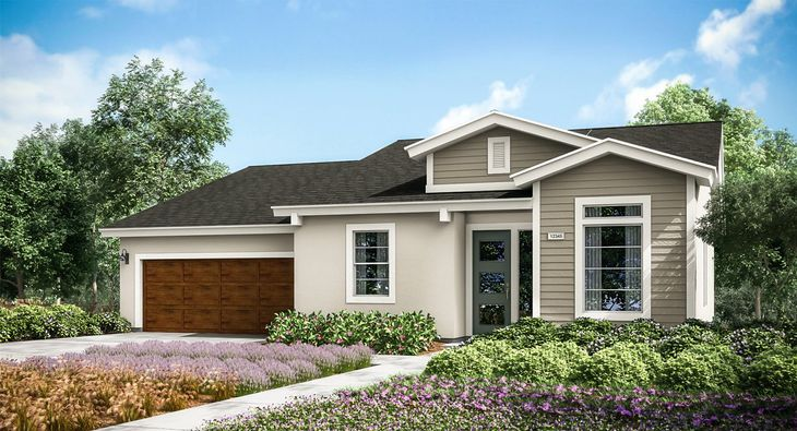 Ashe Meadows Skye Series In Bakersfield Ca New Homes