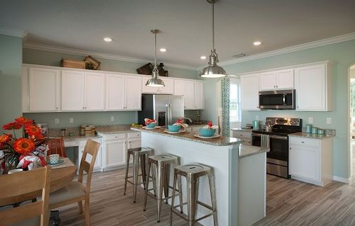 Kitchen-in-Monte Carlo-at-The Sanctuary at Stoneybrook - Executive Homes-in-Venice