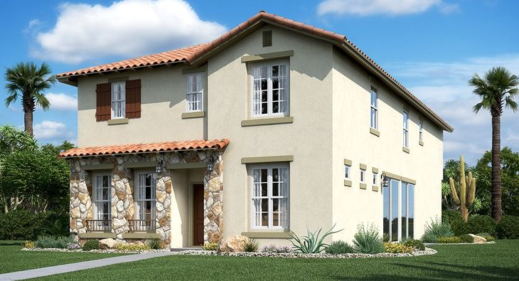 3026 Plan Hacienda Elevation B