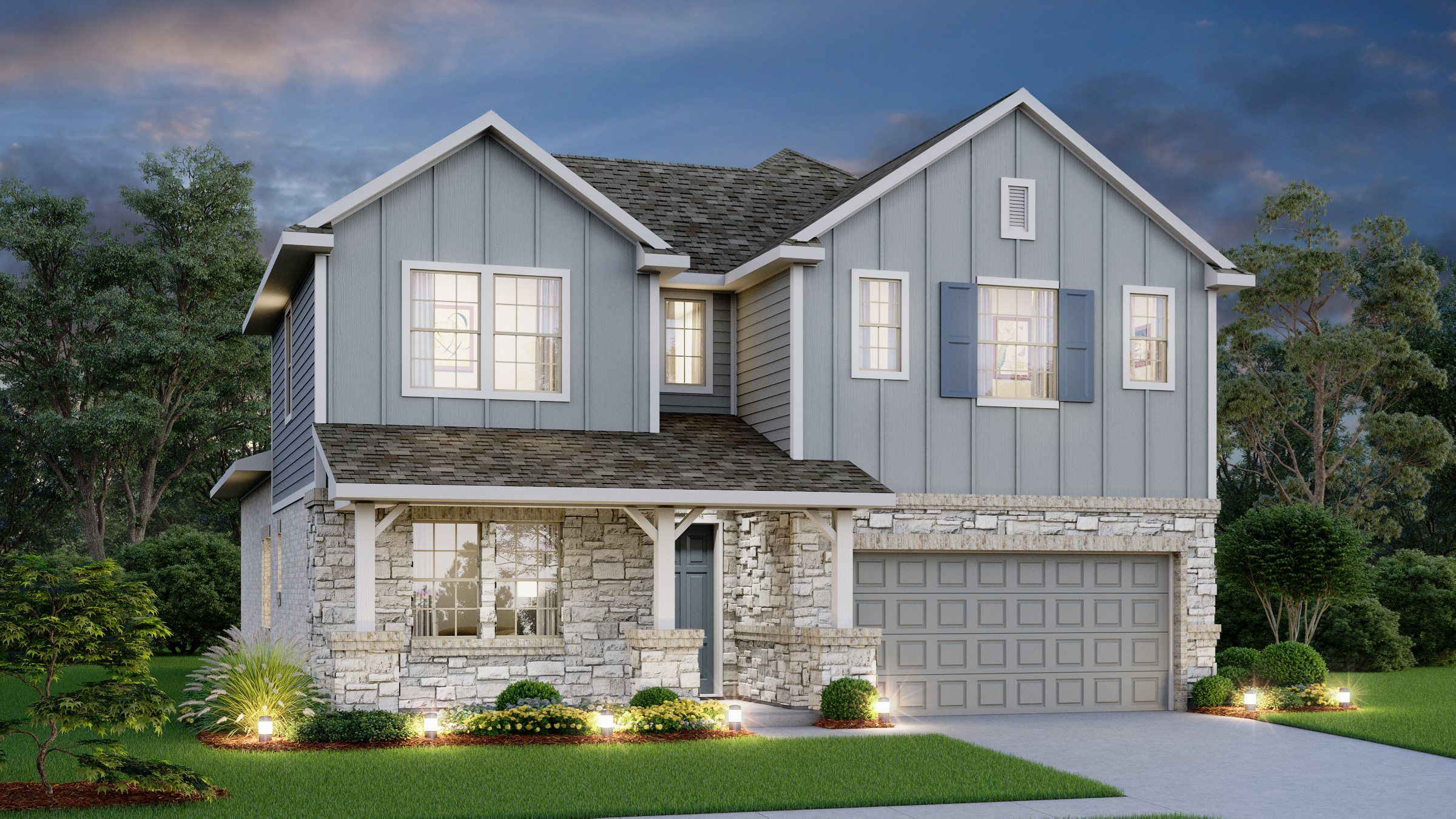 Carmel Creek 50 S In Hutto Tx New Homes Amp Floor Plans