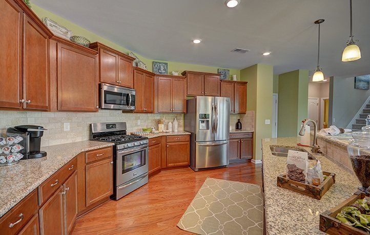 Kitchen-in-Fairfield-at-Waterside at the Catawba - Waterside - Legends-in-Fort Mill