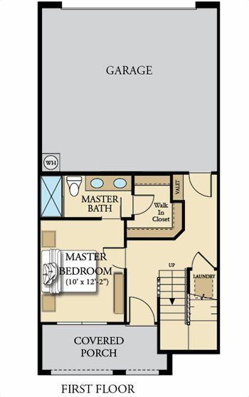 1012 Dove Plan First Floor