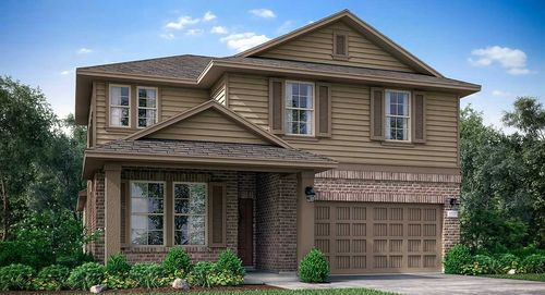 The Villages At Harmony Fairfield Collection By Lennar In Houston Texas