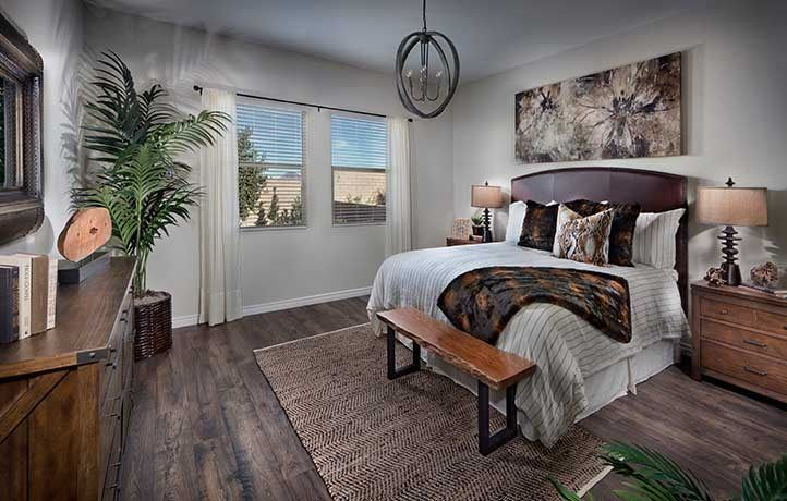 Bedroom-in-Residence Fourteen-at-Heritage at Cadence - Chorus-in-Henderson