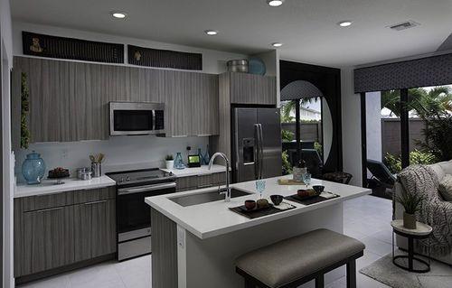 Kitchen-in-Bonsai-at-Satori - Lotus Collection-in-Miami Lakes
