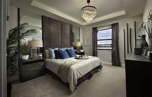 Bedroom-in-Bonsai-at-Satori - Lotus Collection-in-Miami Lakes