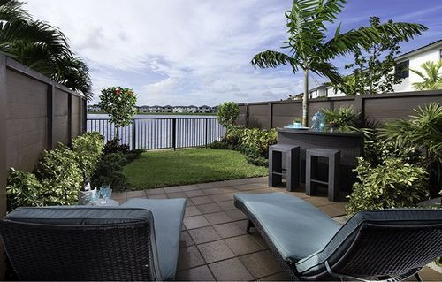 Patio-in-Bonsai-at-Satori - Lotus Collection-in-Miami Lakes