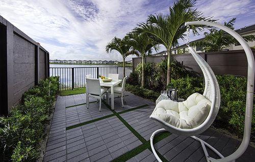 Patio-in-Essence-at-Satori - Lotus Collection-in-Miami Lakes
