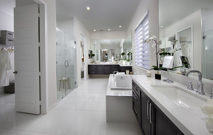 Bathroom-in-Victoria-at-Cascata at MiraLago - Presidential Collection-in-Parkland
