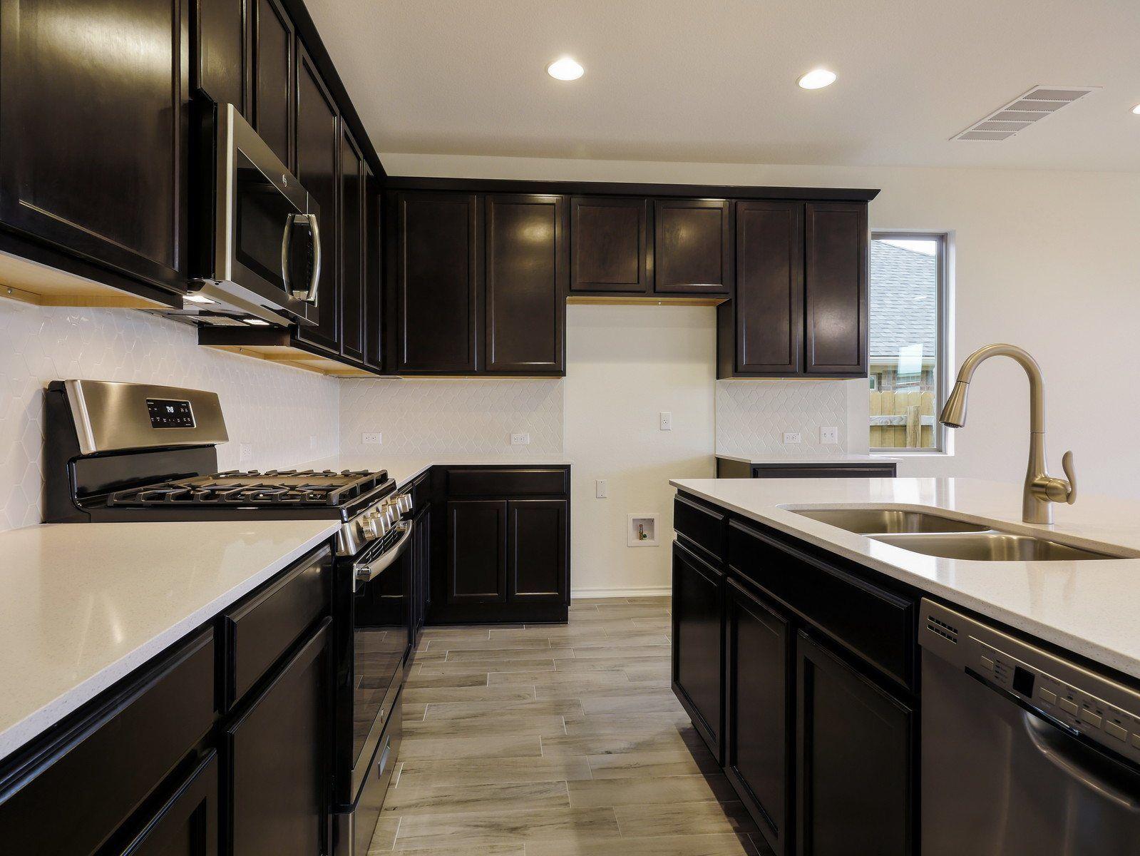 Kitchen-in-Triton-at-Carmel Creek - 50's-in-Hutto