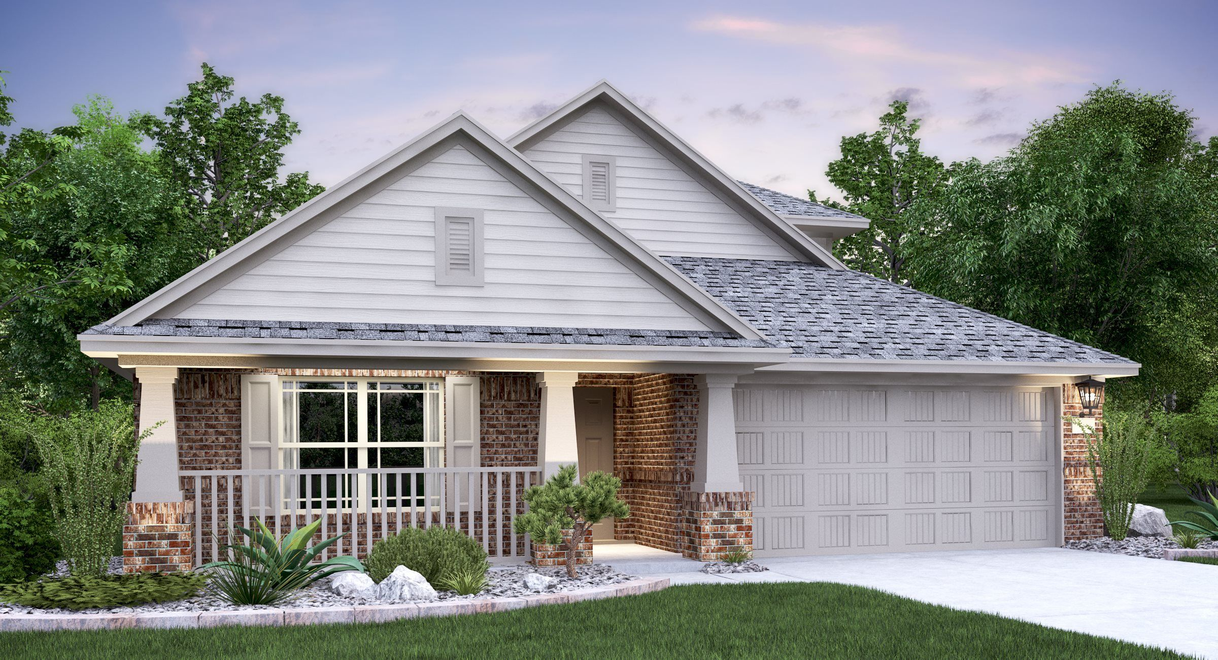 Exterior featured in the Giallo II By Lennar in Austin, TX