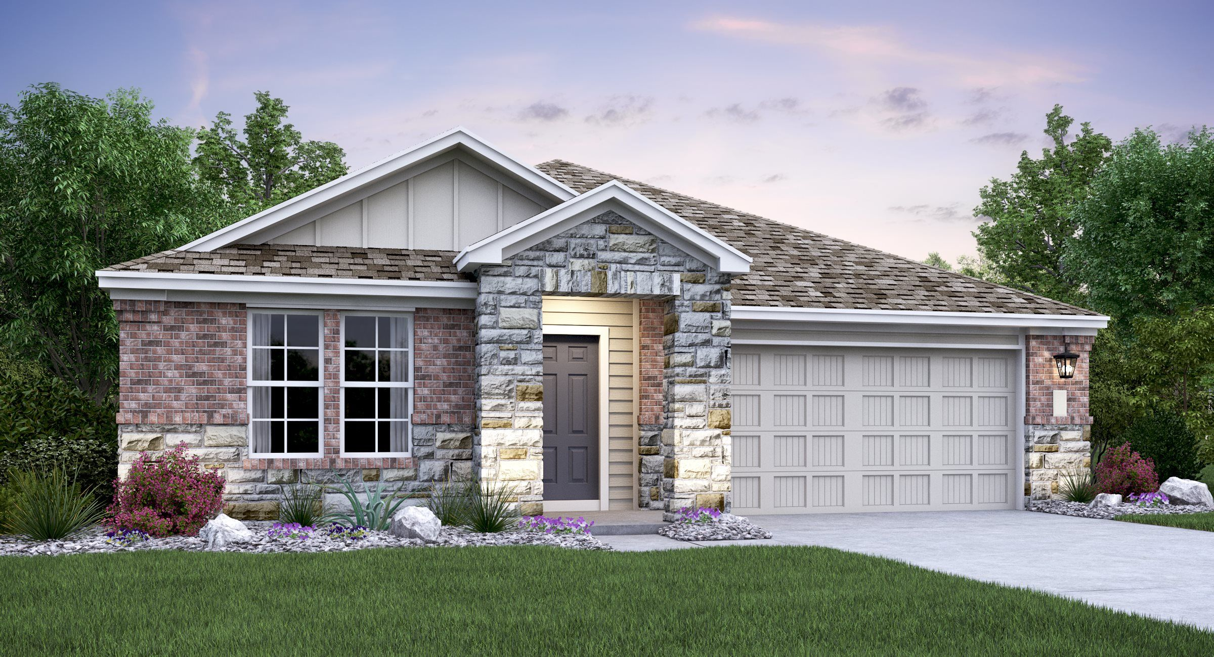 'The Colony - Morgan Bend - Highlands Collection' by Lennar - Austin Homebuilding in Austin