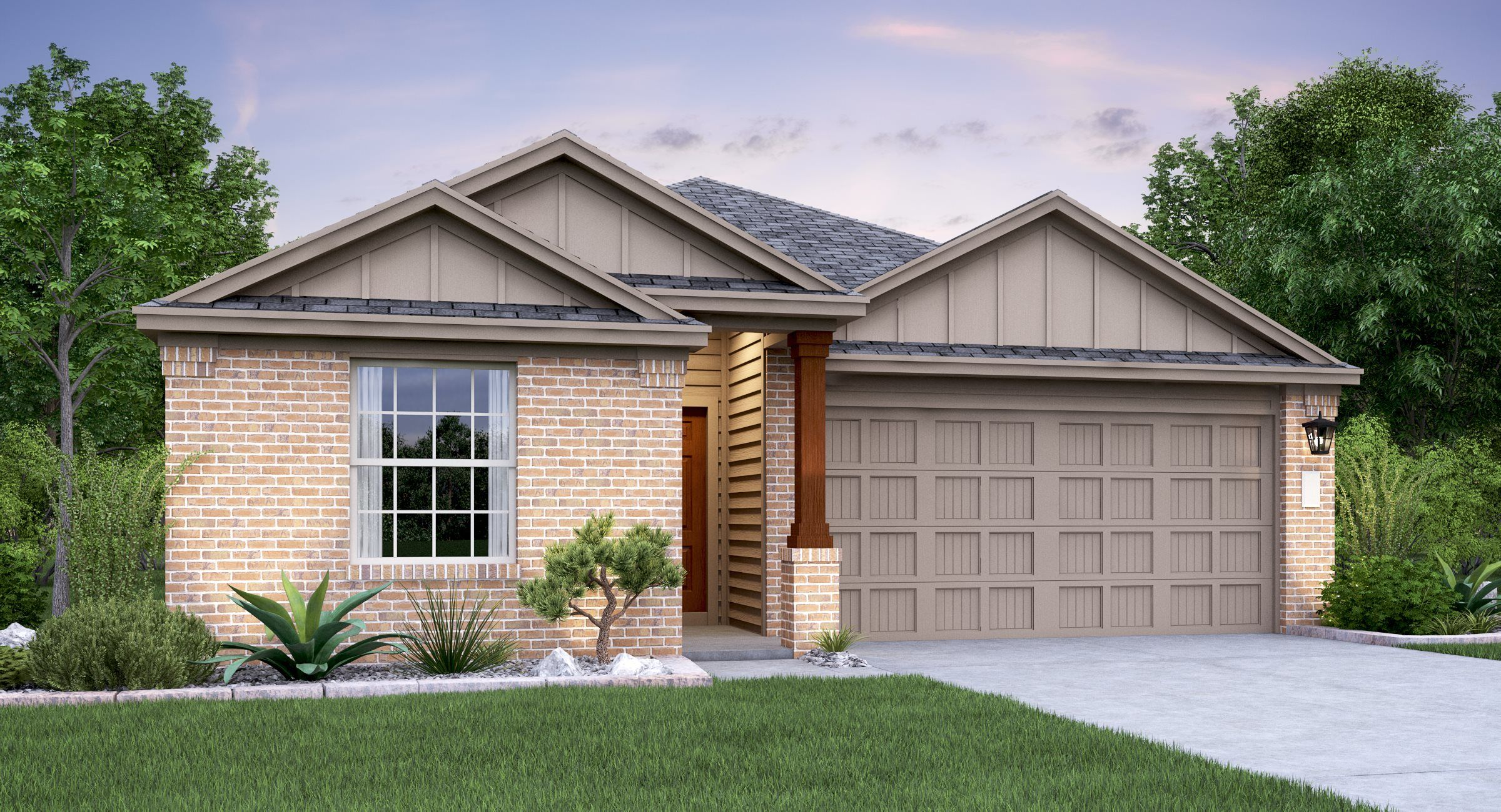 Exterior featured in the Albany By Lennar in Austin, TX