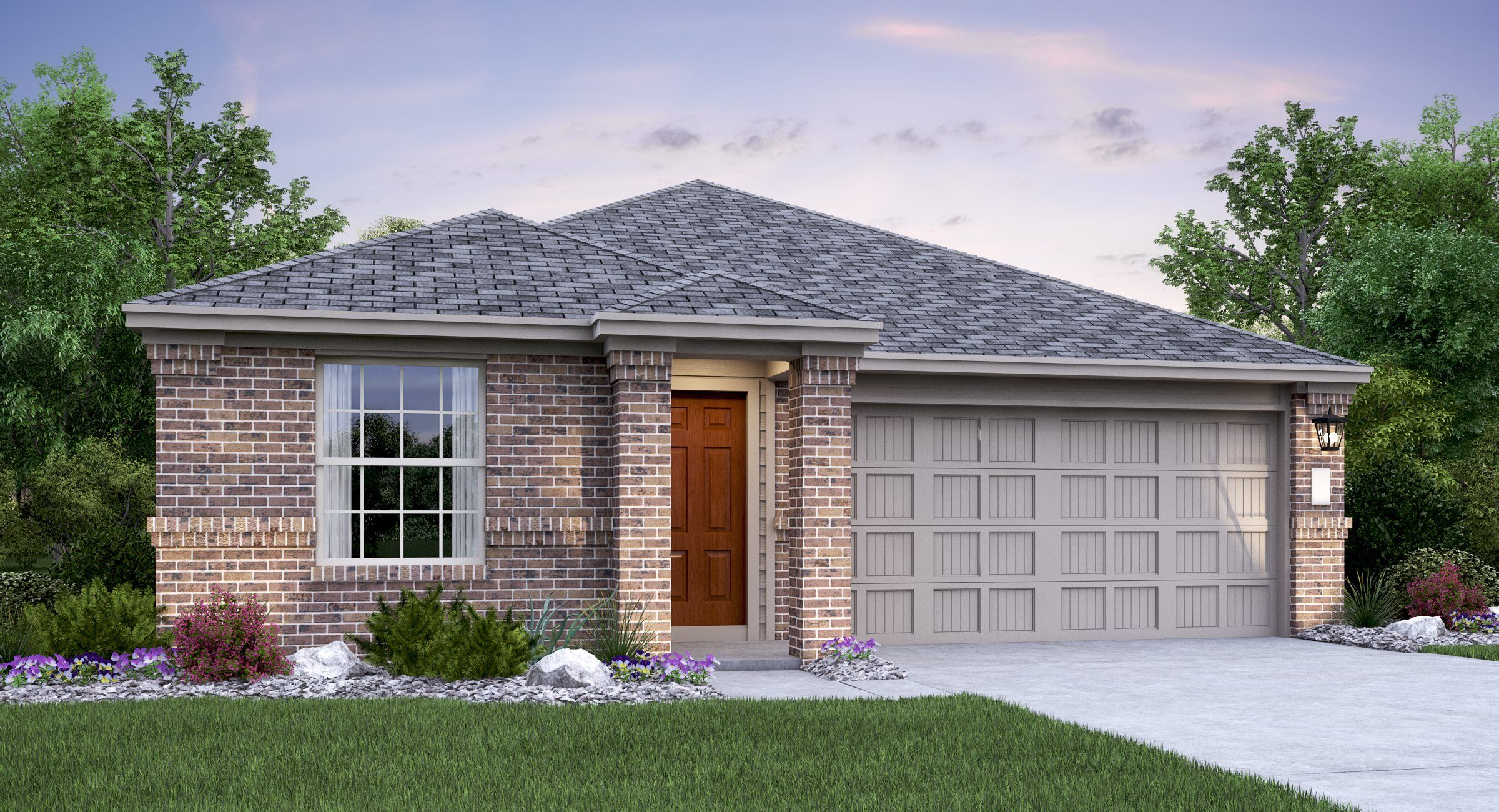 Exterior featured in the Collins By Lennar in Austin, TX