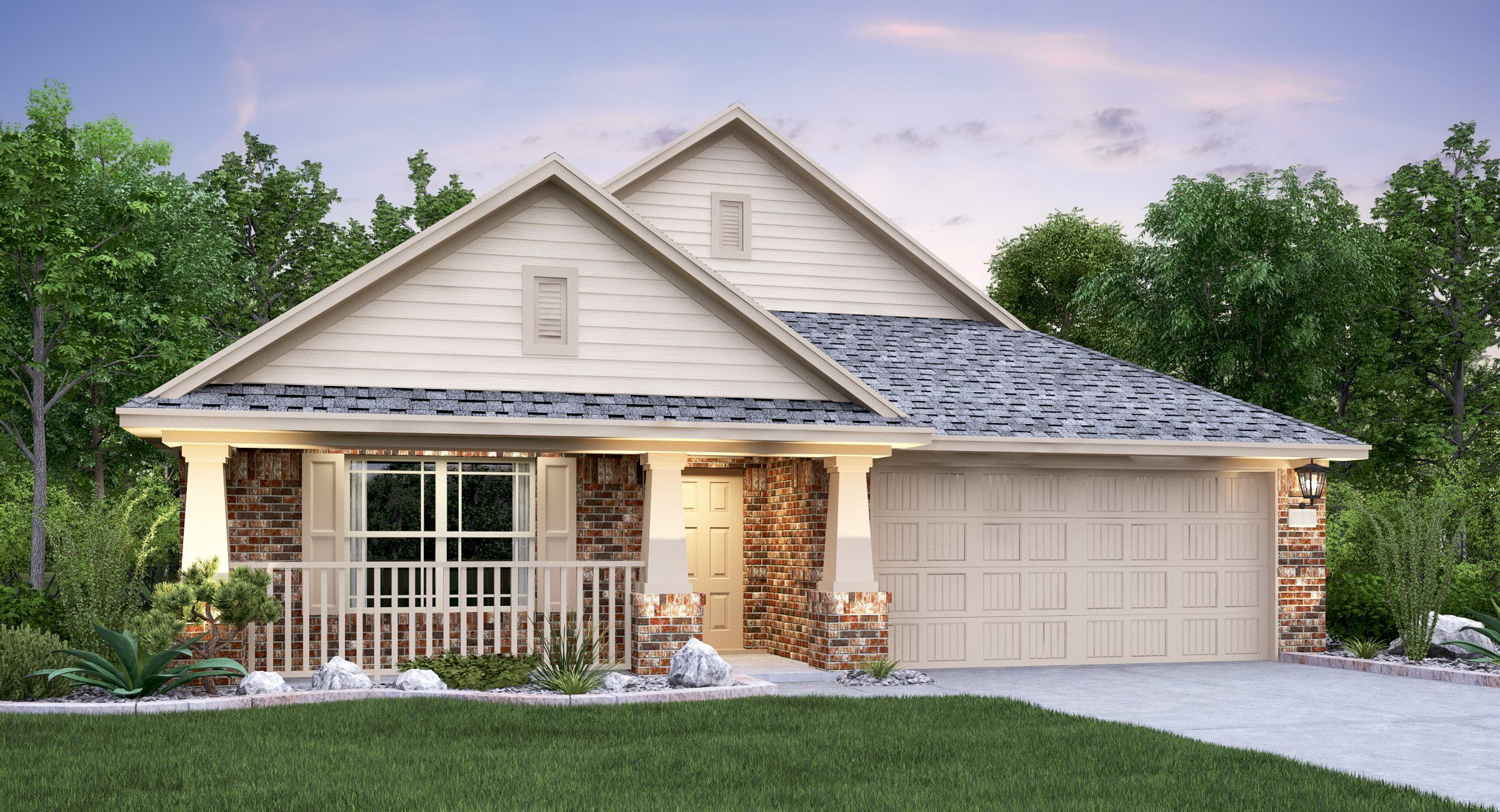 Exterior featured in the Giallo By Lennar in Austin, TX