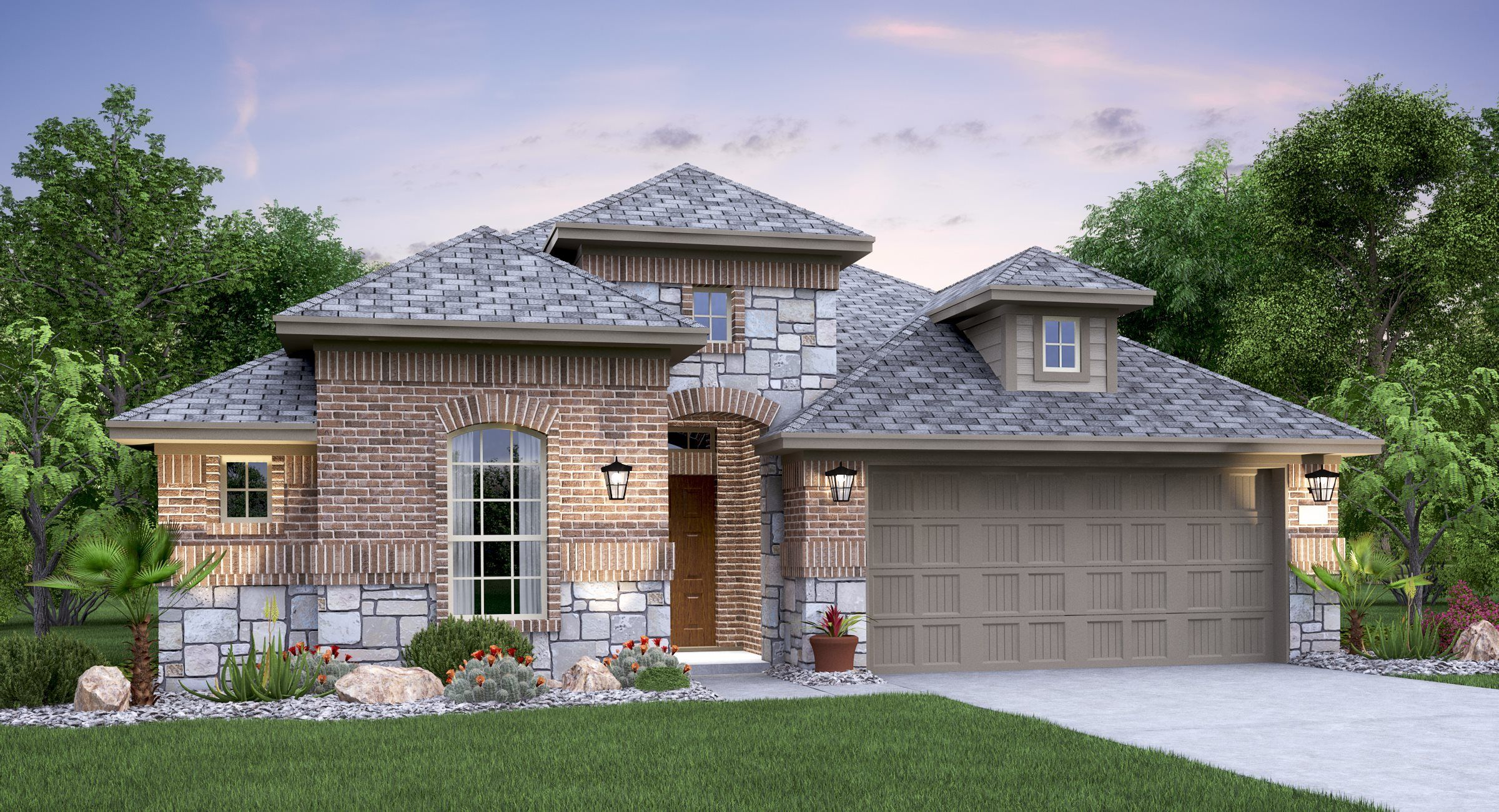 Exterior featured in the Madura By Lennar in Austin, TX