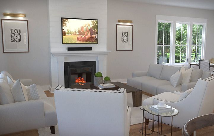 Living Area featured in the TRADD By Lennar in Charleston, SC