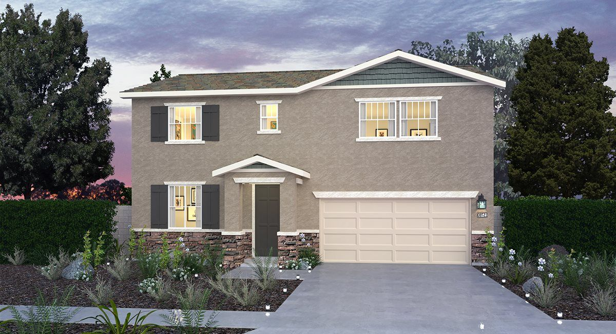 Exterior featured in the Residence Three By Lennar in Riverside-San Bernardino, CA