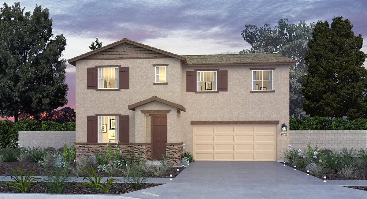 Exterior featured in the Residence Four By Lennar in Riverside-San Bernardino, CA