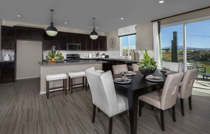 Kitchen featured in the Residence Four By Lennar in Riverside-San Bernardino, CA