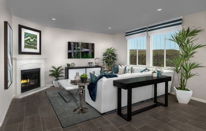 Living Area featured in the Residence Three By Lennar in Riverside-San Bernardino, CA
