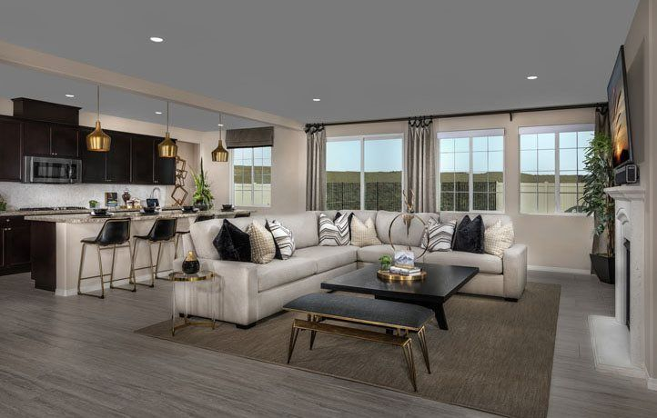 Living Area featured in the Residence Four By Lennar in Riverside-San Bernardino, CA