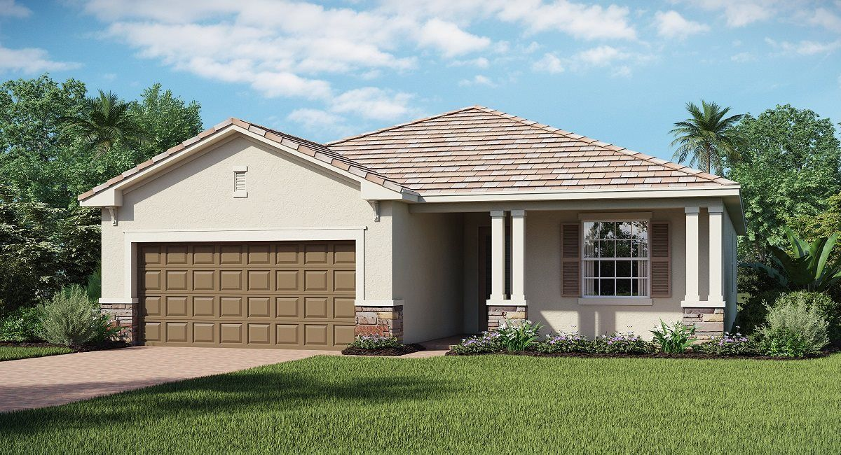 Exterior featured in the VENICE By Lennar in Punta Gorda, FL