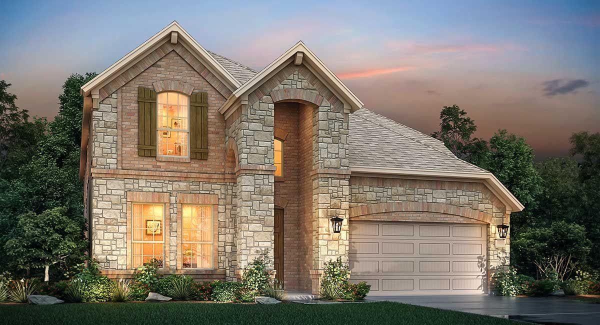 Exterior featured in the Pisa By Village Builders in Houston, TX