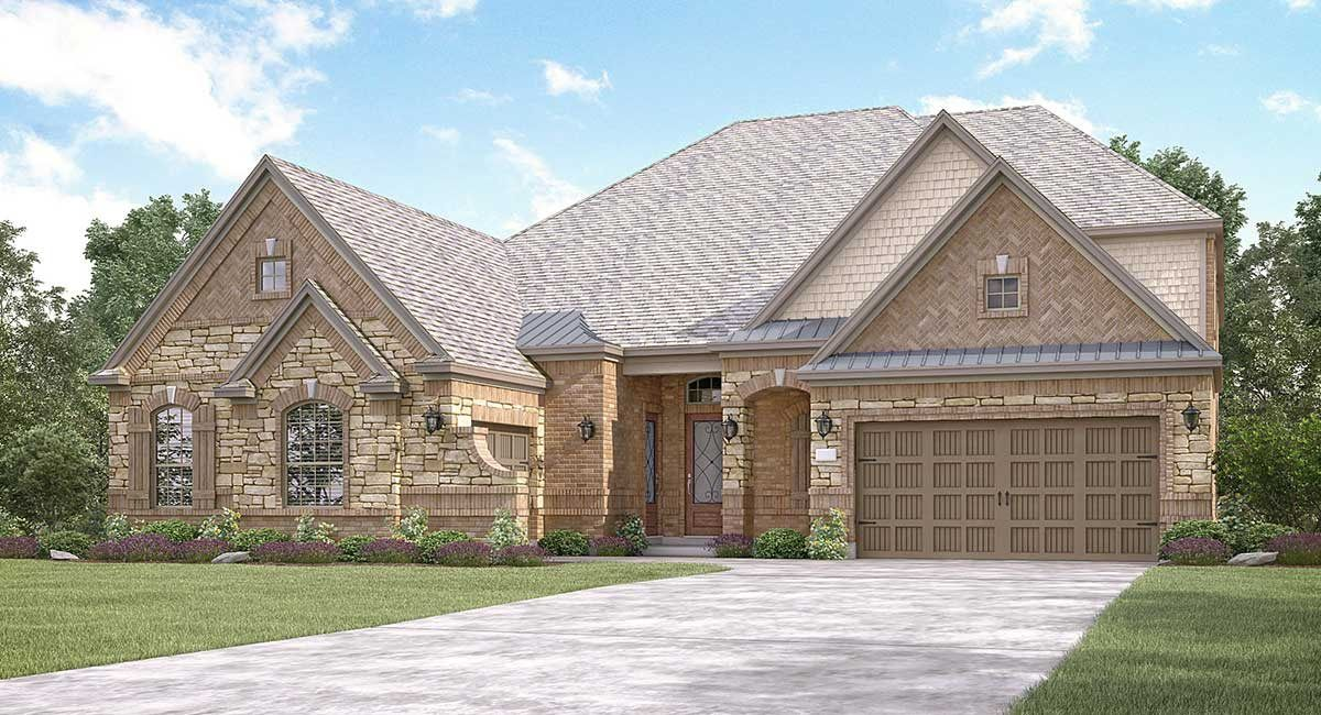Exterior featured in the Parker II By Village Builders in Houston, TX
