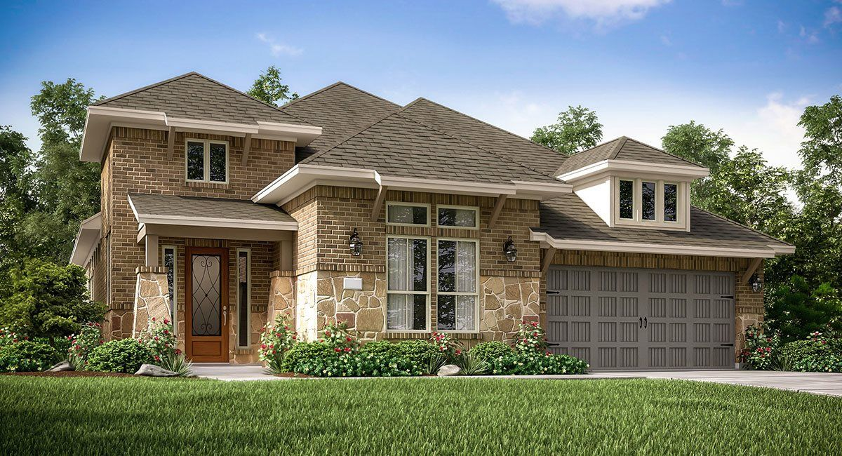 Exterior featured in the Northborough By Village Builders in Houston, TX