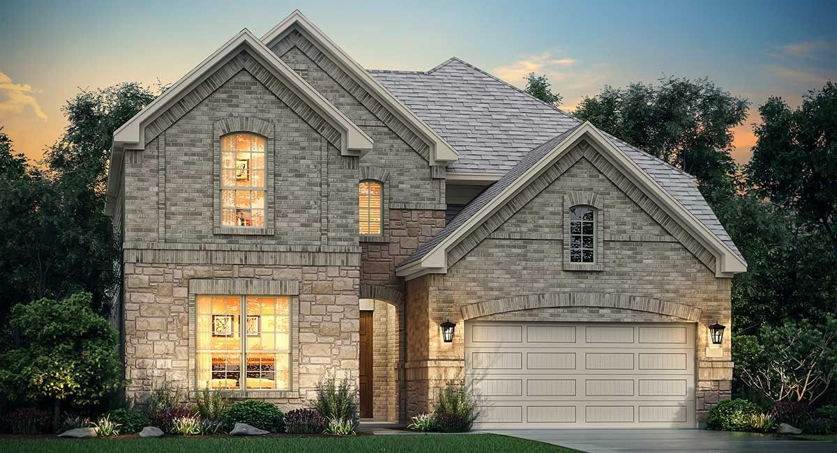 Exterior featured in the Louvre By Village Builders in Houston, TX