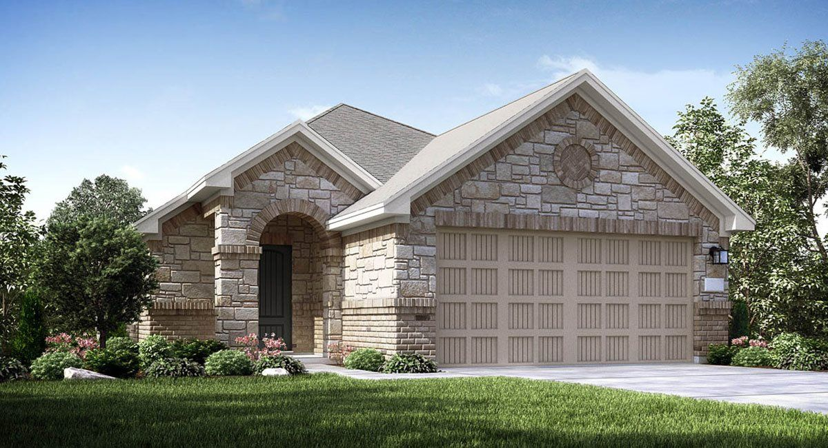 Exterior featured in the Seabrook By Lennar in Houston, TX