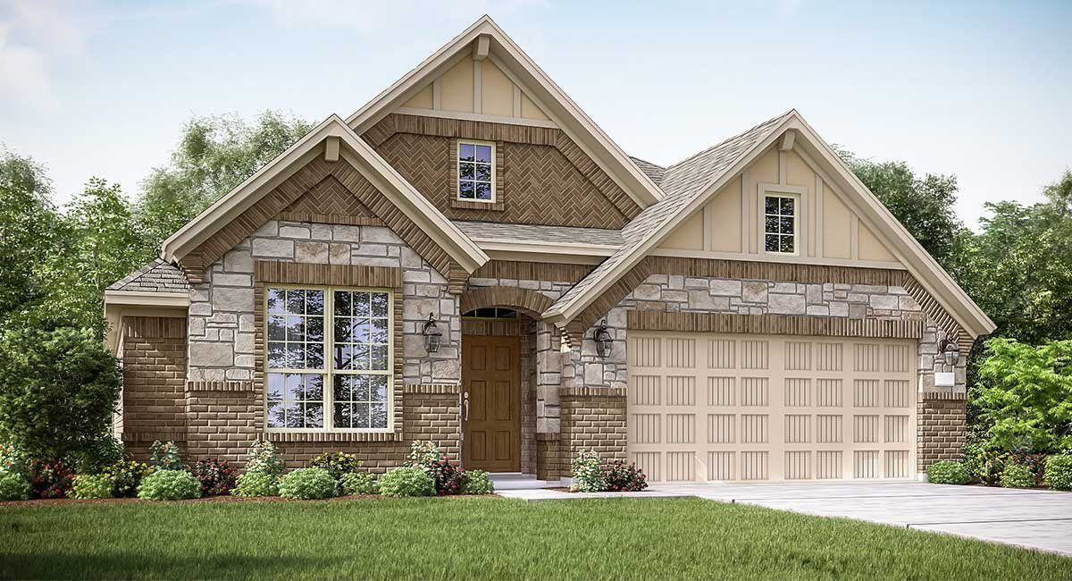 Exterior featured in the Travertine II By Lennar in Houston, TX
