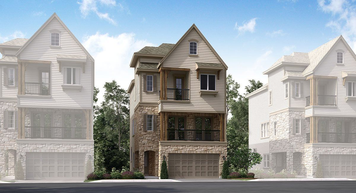 Exterior featured in the Equinox By Lennar in Houston, TX