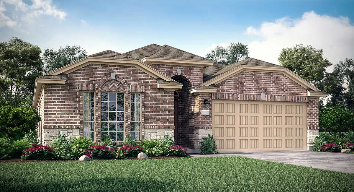 Exterior featured in the Hanover By Lennar in Houston, TX