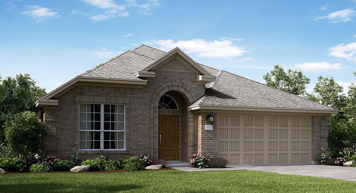 Exterior featured in the Lantana By Lennar in Houston, TX