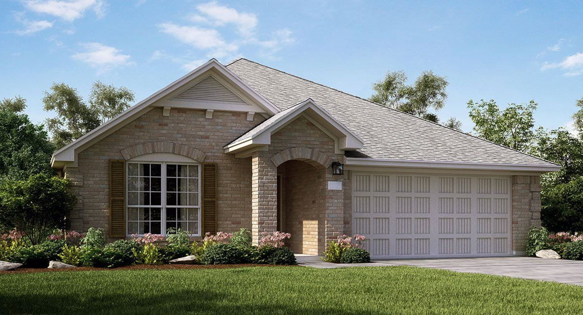 Exterior featured in the Clover By Lennar in Houston, TX