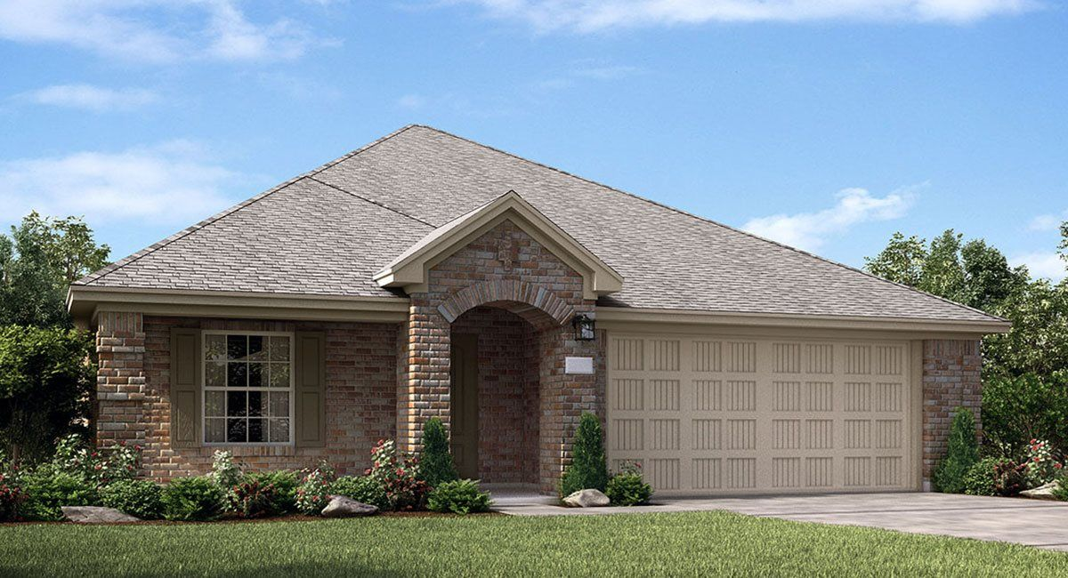 Exterior featured in the Honeysuckle By Lennar in Houston, TX