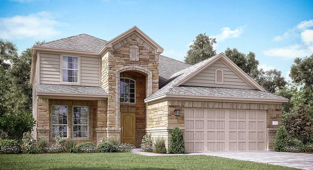 Exterior featured in the Dewberry By Lennar in Houston, TX