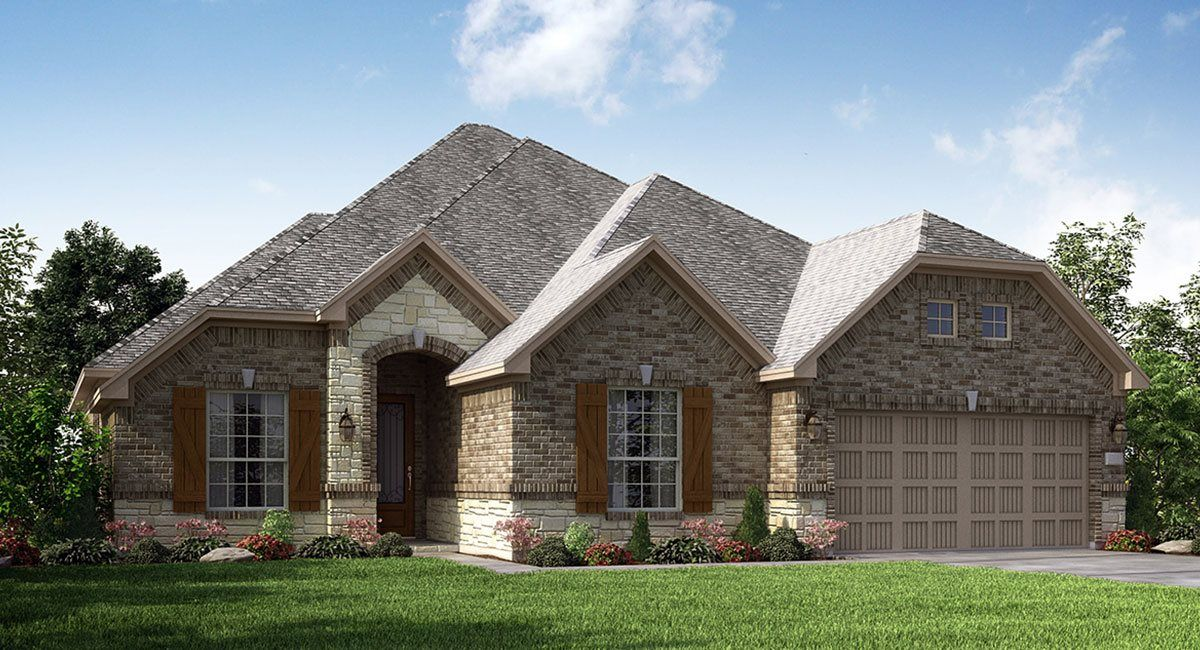 Exterior featured in the Amistad By Lennar in Houston, TX