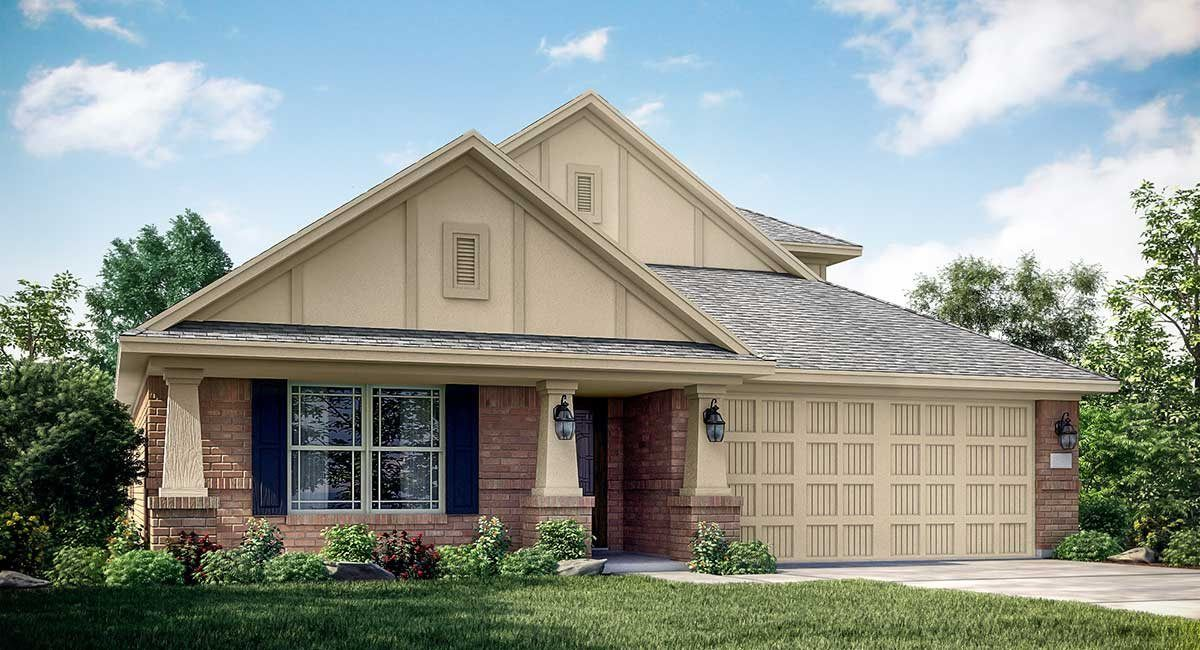 Exterior featured in the Radford II 3796 By Lennar in Houston, TX