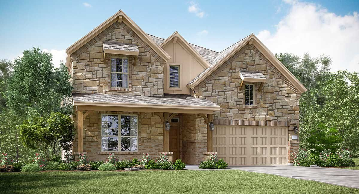 Exterior featured in the Alabaster II By Lennar in Houston, TX