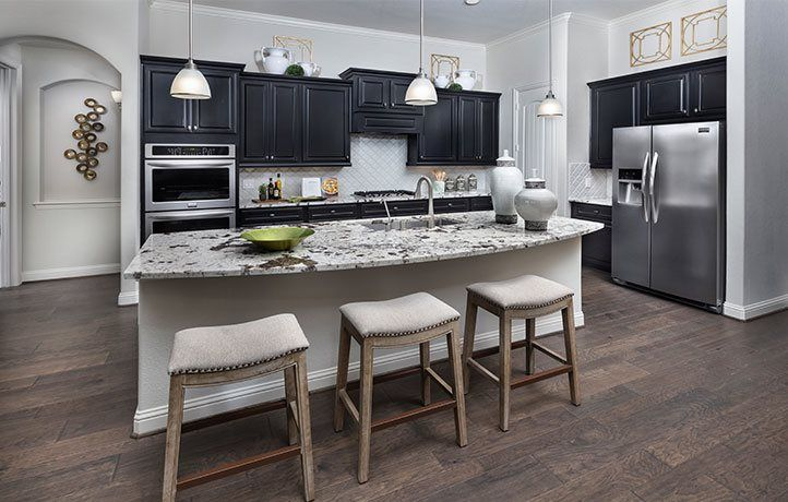 'Lakes Of Savannah - Texas Reserve Collection' by Lennar - Houston in Houston